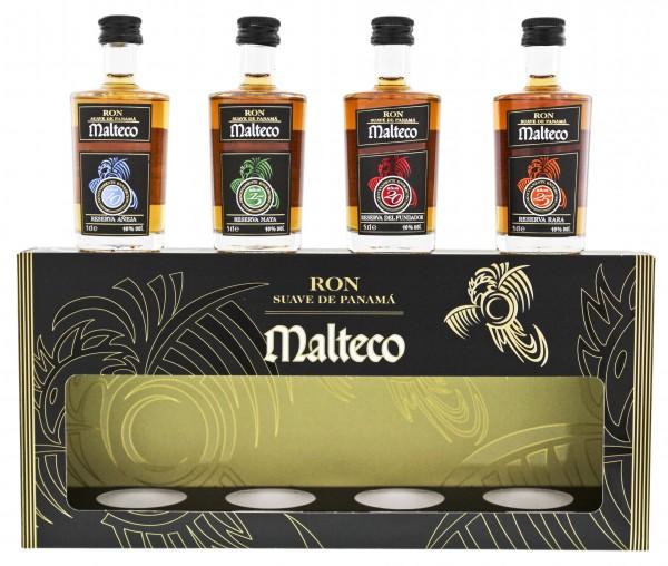 Malteco Tastingset (10YO/15YO/20YO/25YO) 0,2 Liter 40%