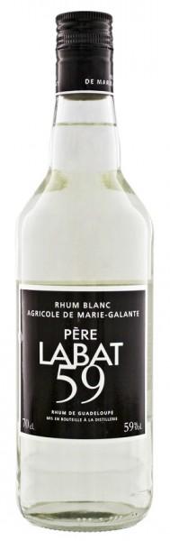 Pere Labat Blanc Agricole Overproof Rum 0,7 Liter 59%