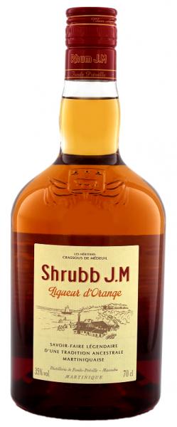 JM Shrubb d´Orange Liqueur 0,7 Liter 35%