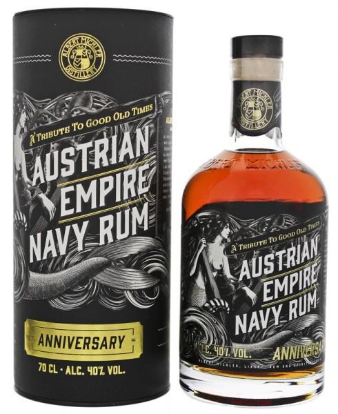 Austrian Empire Navy Rum Anniversary 0,7 Liter 40%