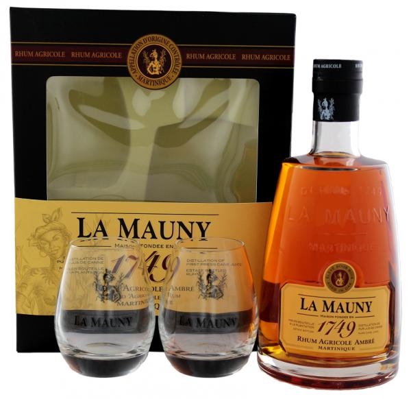La Mauny Ambre incl. 2 Gläser 0,7 Liter