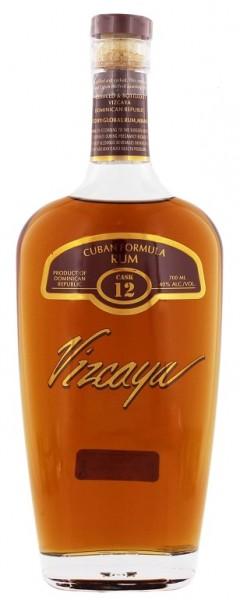 Vizcaya Cask Nr. 12 Dark Rum 0,7 Liter 40%