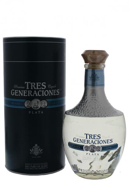 Sauza Tres Generaciones Plata Tequila 0,7 Liter 38%