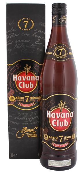 Havana Club 7YO Añejo Rum 1 Liter 40%