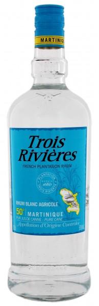 Trois Riviéres Blanc Agricole Rhum 1 Liter 50%