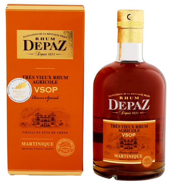 Depaz VSOP Agricole Rhum 0,7 Liter 45%