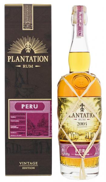 Plantation Peru 2004/2018 Vintage Edition Rum 0,7 Liter 43,5%