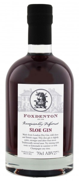 Foxdenton Sloe Gin - England 0,7L