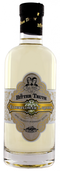 The Bitter Truth Elderflower Liqueur 0,5 Liter 22%