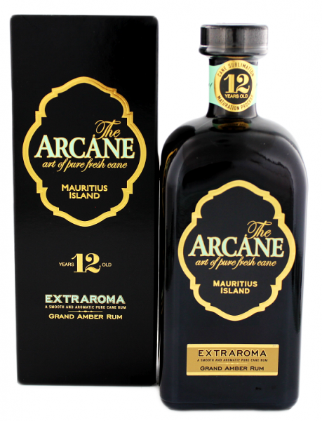 Arcane 12YO Extraroma Rum 0,7 Liter 40%