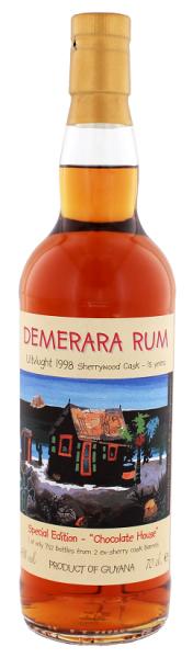 PPC Demerara Rum Uitvlugt 1998 15YO Sherrywood Cask 0,7 Liter 46%