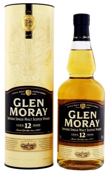 Glen Moray 12YO Single Malt Whisky 0,7 Liter 40%