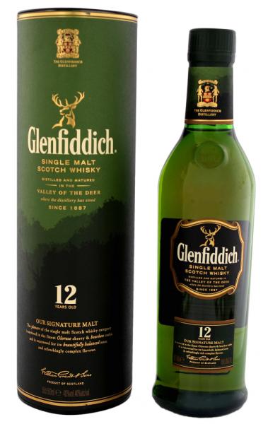 Glenfiddich 12YO 0,5 Liter