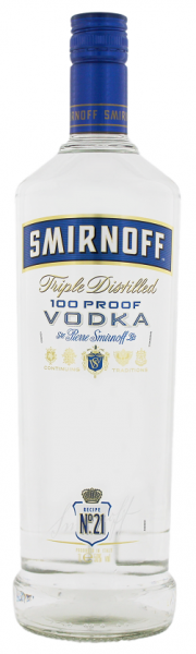 Smirnoff Blue Label 1 Liter 50%