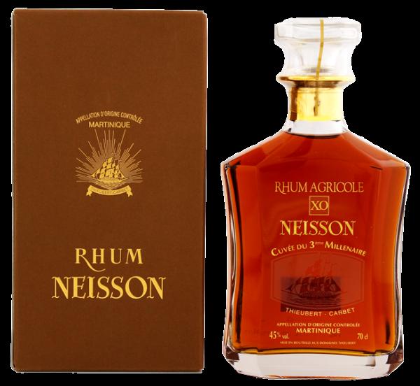 Neisson XO Cuvée du 3 éme Millenaire Agricole Rhum 0,7 Liter 45%