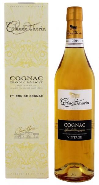 Claude Thorin Cognac Grande Champagne Millésimé 2004 0,7 Liter 40%