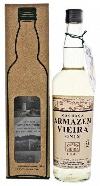 Armazem Vieira Onix Cachaca 0,7 Liter 40%