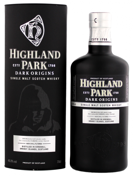 Highland Park Dark Origins 0,7 Liter 46,8%