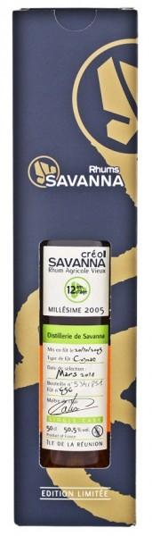 Savanna Créol 12YO Agricole 2005/2015 Cognac Finish Rhum 0,5 Liter 50,5%