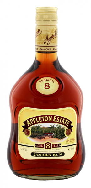 Appleton Estate 8YO Reserve Rum 0,7 Liter