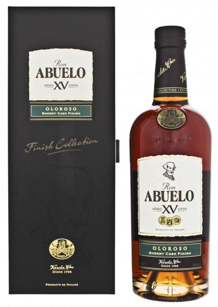 Abuelo 15YO Oloroso Sherry Cask Finish 0,7 L