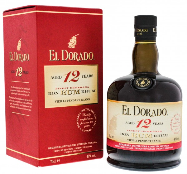 El Dorado 12YO Rum 0,7 Liter