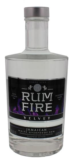 Rum Fire Velvet Overproof Rum 0,35 Liter 63%