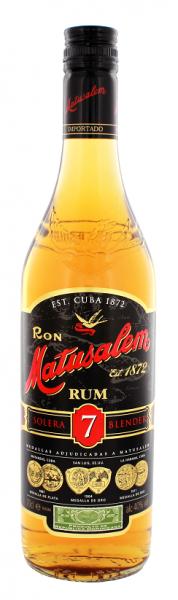 Matusalem 7YO Solera Rum 0,7 Liter 40%