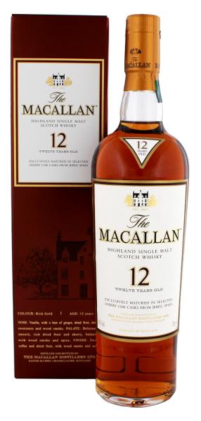 Macallan Sherrywood 12YO 0,7 Liter