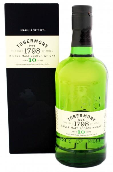 Tobermory 10YO 0,7 Liter