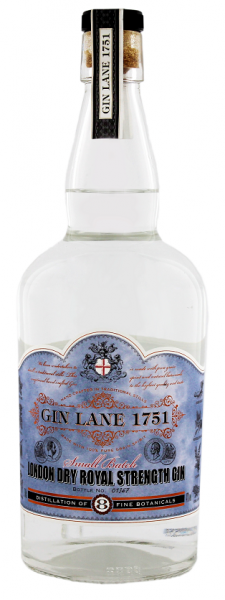 Gin Lane 1751 London Dry Royal Strength Gin 0,7 Liter 47%