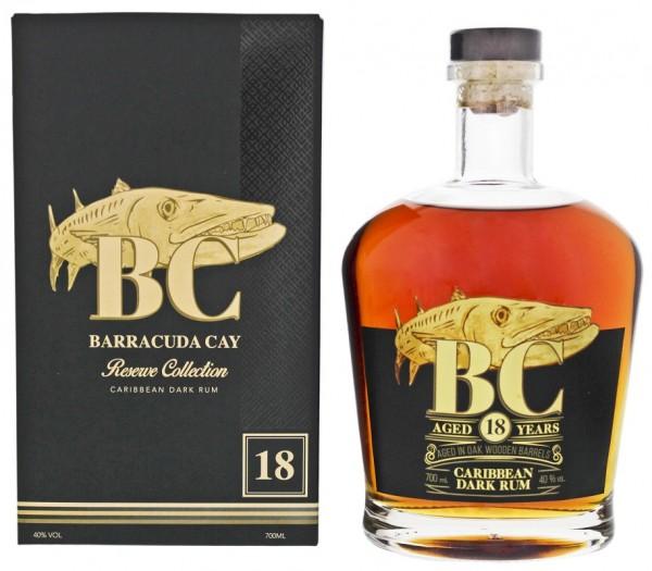 BC Barracuda Cay 18YO Dark Rum 0,7 Liter 40%