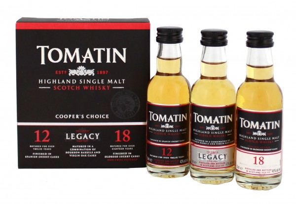Tomatin Stillmen's Choice Miniaturenset 0,05L