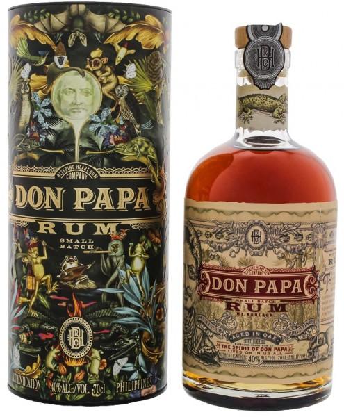 Don Papa Rum Flora und Fauna Tube 0,7 Liter 40%
