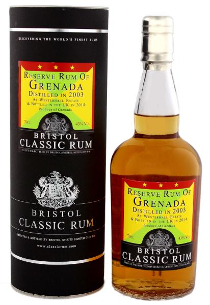 Bristol Reserve Rum of Grenada 2003 0,7 Liter