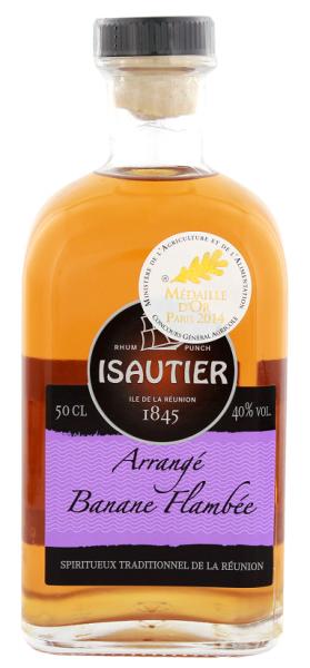 Isautier Arrangé Banane Flambé 0,5 Liter 40%