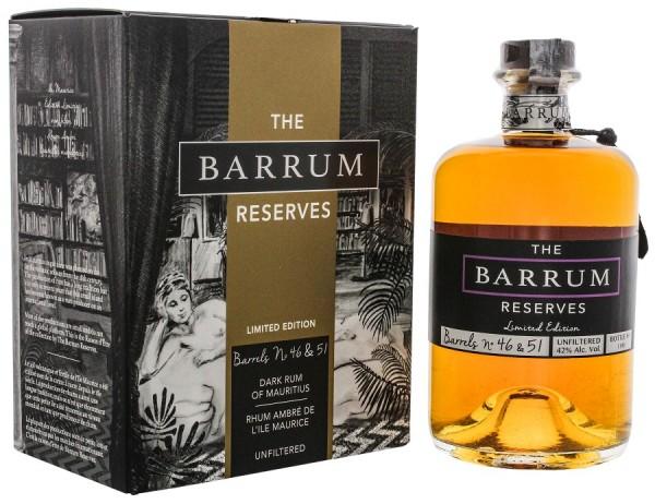 The Barrum Reserves Barrel No. 46 & 51 Limited Edition Rum
