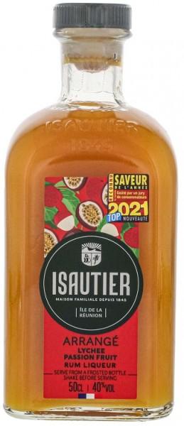 Isautier Arrange Letchi Passion Likör 0,5 Liter 40%