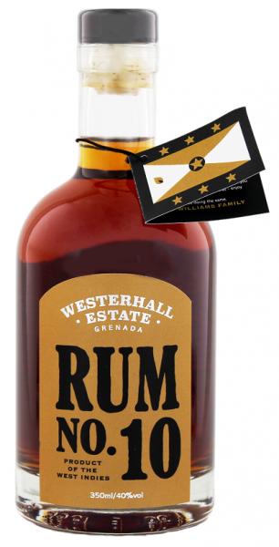 Westerhall No. 10 Rum 0,35 Liter