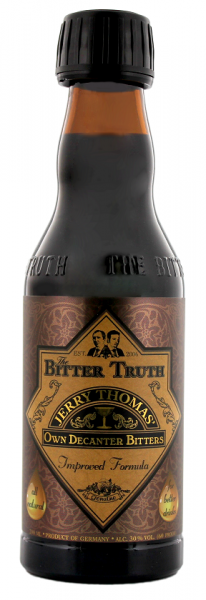 The Bitter Truth Jerry Thomas Own Decanter Bitters 0,2 Liter 30%