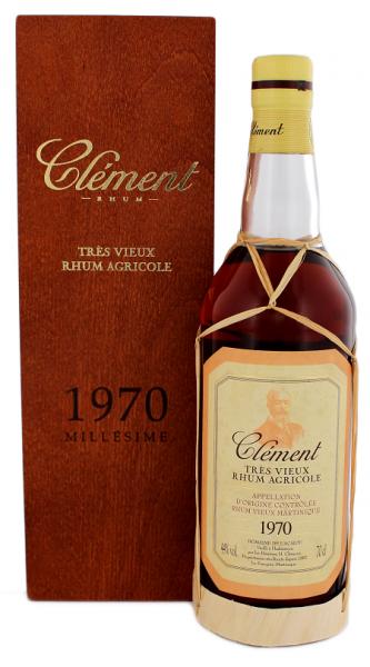 Clément Tres Vieux 1970 0,7 Liter
