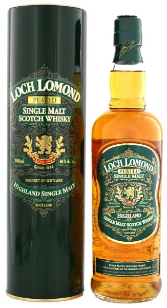 Loch Lomond Green Single Peated Malt 0,7 Liter 46%