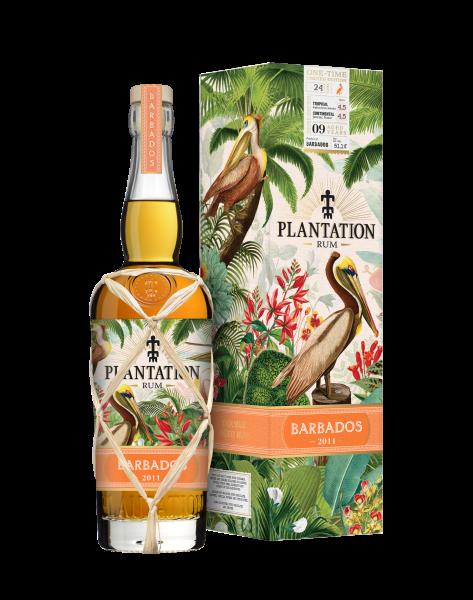 Plantation Barbados 2011 One Time Rum 0,7 Liter 51,1%
