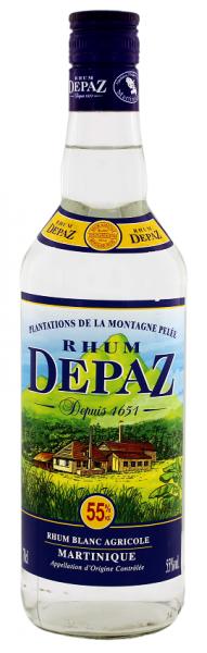 Depaz Blanc Agricole Rhum 0,7 Liter 55%