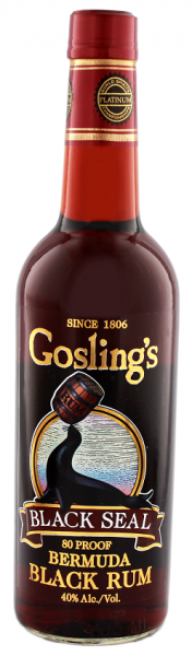 Gosling's Black Seal Rum 0,7 Liter
