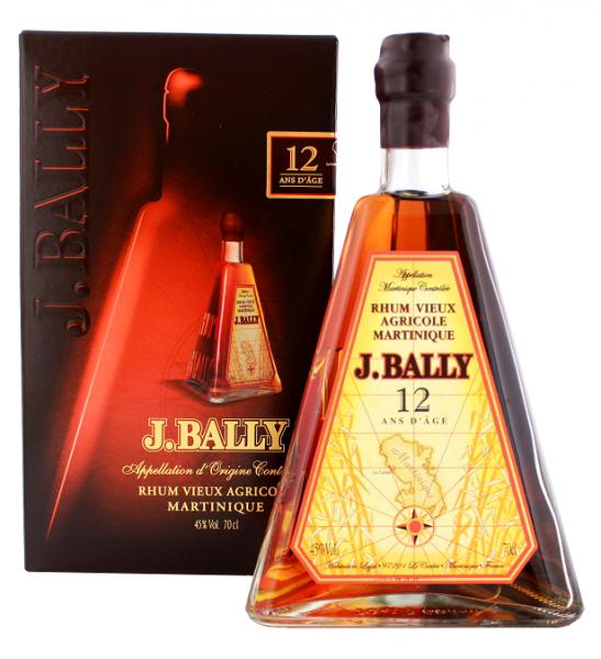J. Bally Vieux 12YO d'Age Agricole Rhum  0,7 Liter 45%