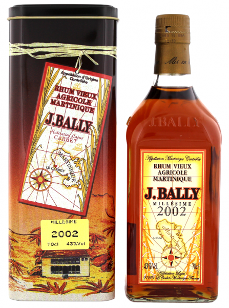 J. Bally 2002 Vieux Agricole Rhum 0,7 Liter 43%