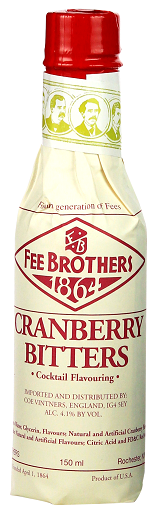 Fee Brothers Cranberry Bitters 0,150 Liter 4,1%