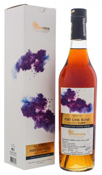 Savanna Collection 15YO Grand Arome Port Cask Blend Single Cask Rhum 0,5 Liter 49,2%