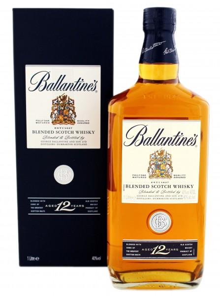 Ballantines 12YO Whisky 1 Liter 40%